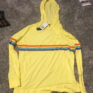 NWT yellow forever 21 shirt